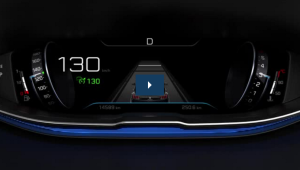 Adaptive cruise control with stop function